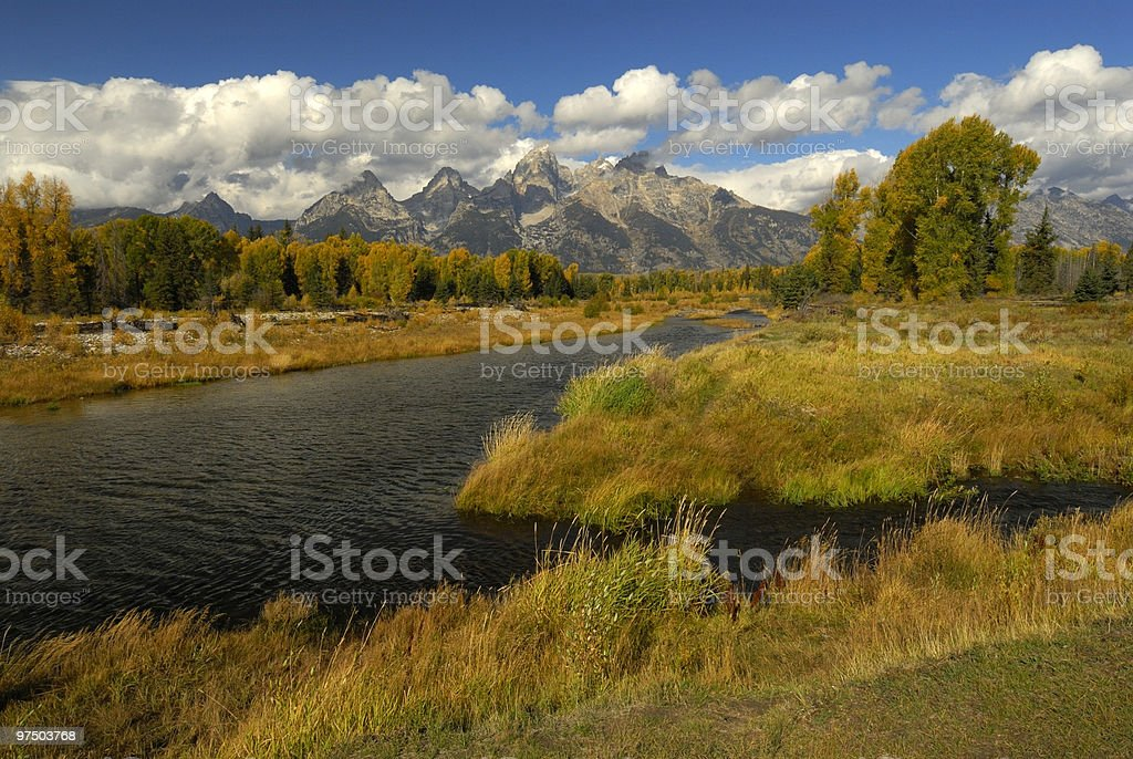 Schwabacher Landing royalty-free stock photo