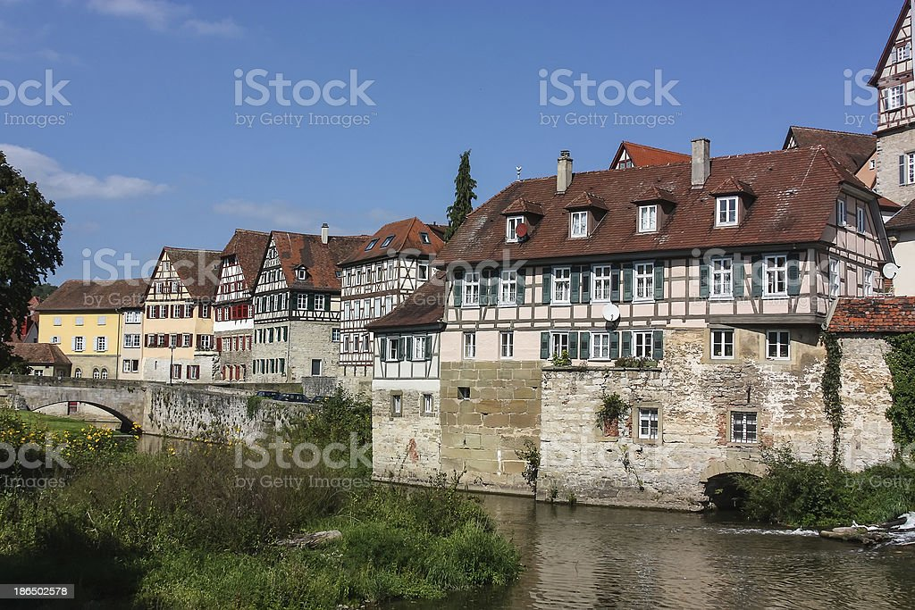 Schwabisch Hall,Germany royalty-free stock photo