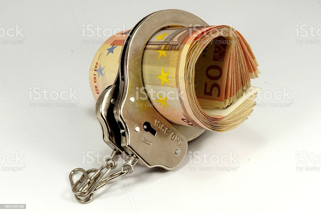 Schwarzgeld stock photo