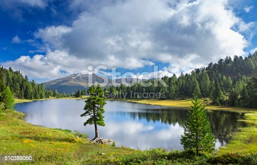 istock Schwarzsee beautiful alpin lake in Austrian Alps 510389050
