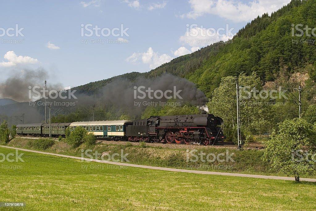 Schwarzwaldbahn 01-519 royalty-free stock photo