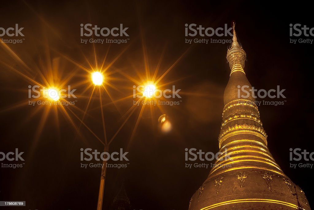 Schwedagon Pagoda royalty-free stock photo