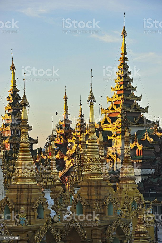 Schwedagon Paya,Yangon,Burma royalty-free stock photo