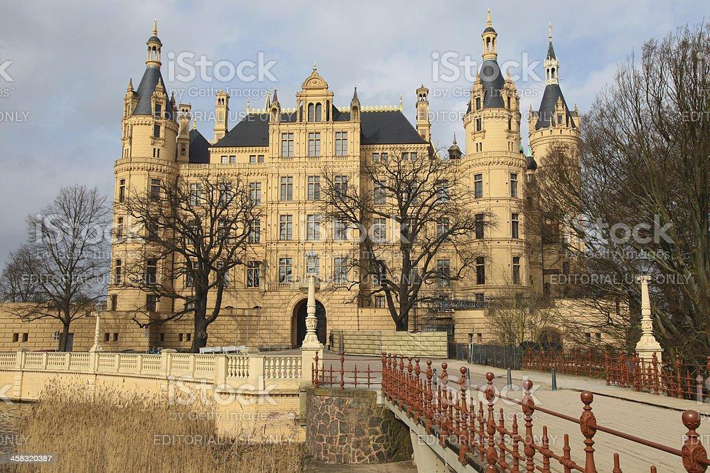 Schwerin Castle royalty-free stock photo