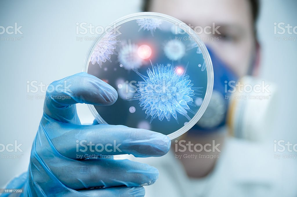 Scienza e la ricerca in laboratorio - foto stock