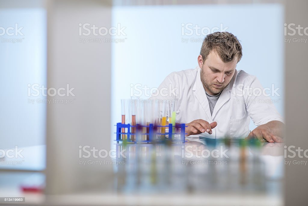 Science and technology stock photo