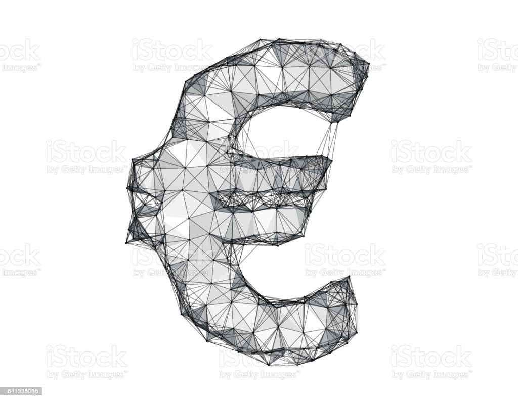 Science And Technology Sense Of The Currency Symbol The Euro Symbol