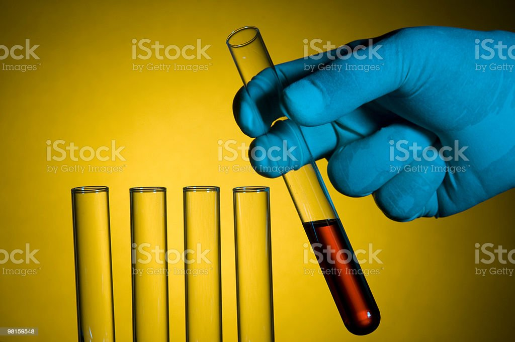 Science and Test Tubes royalty-free stock photo