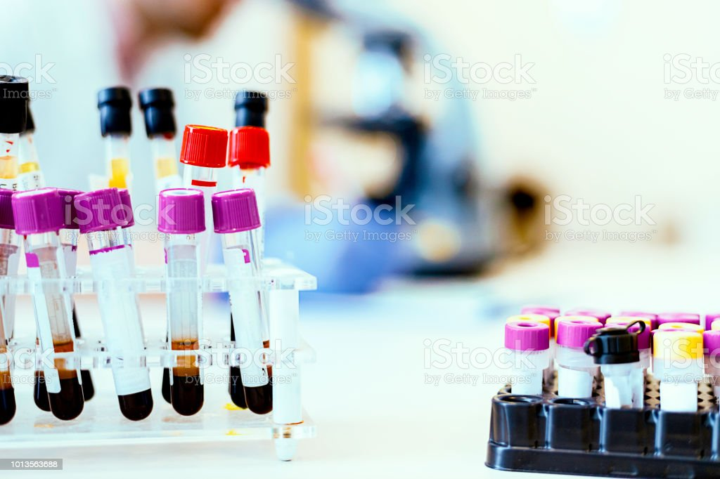 Science at work stock photo