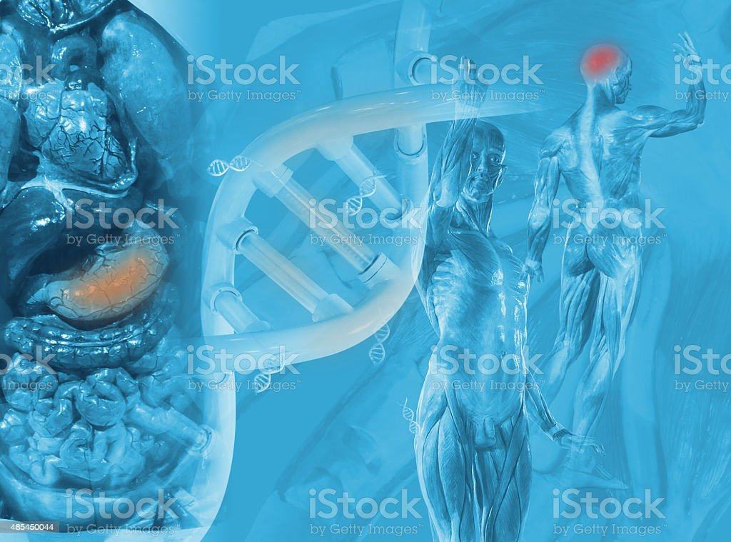 Science background design with object science. stock photo
