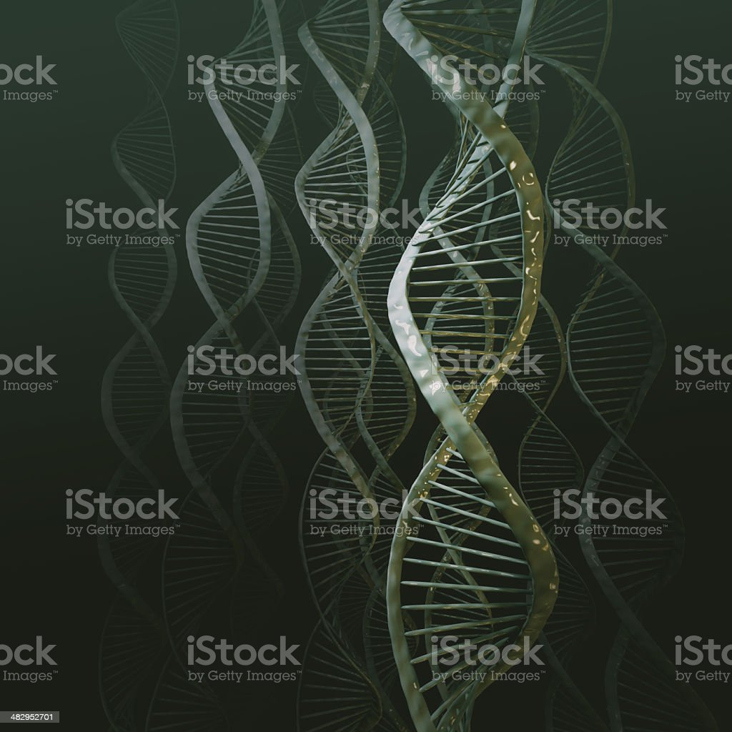 DNA Science Background royalty-free stock photo
