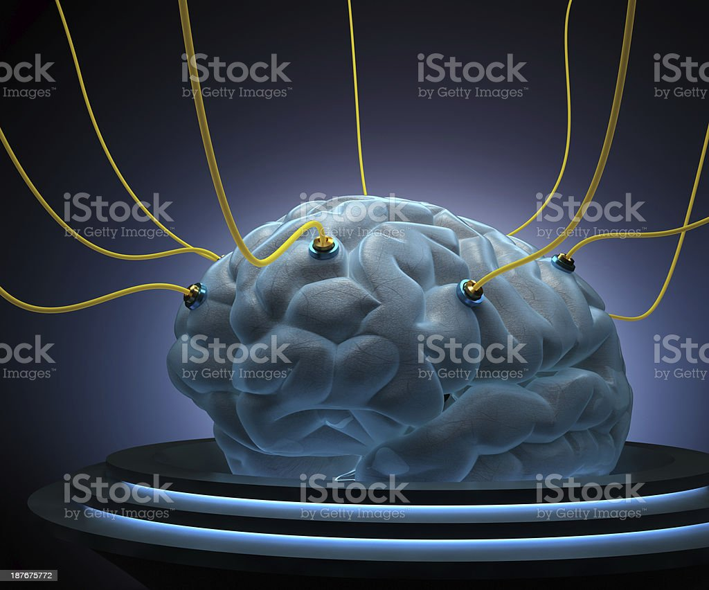 Science Brain stock photo