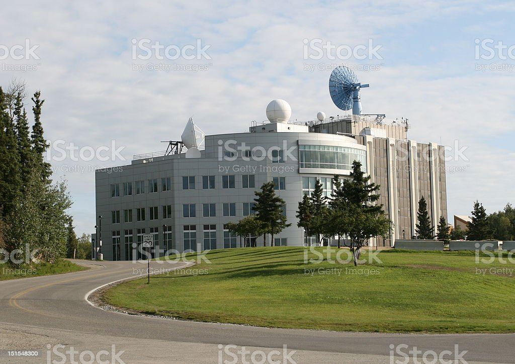 Science Building stock photo
