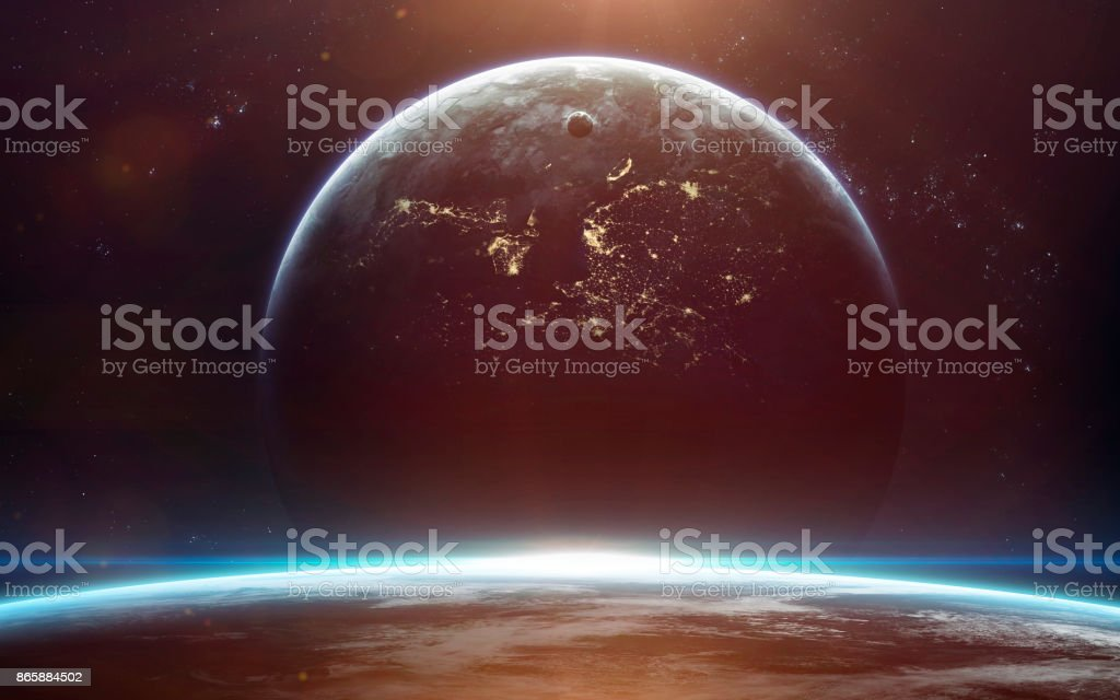 Science Fiction Space Wallpaper Incredibly Beautiful Planets Galaxies Dark And Cold Beauty Of