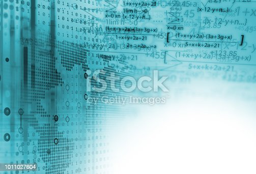 1047349788 istock photo science formula and math equation abstract background 1011027604