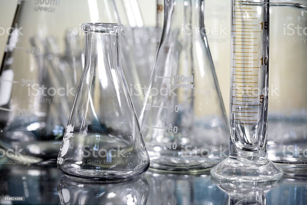 Science Glassware royalty-free stock photo