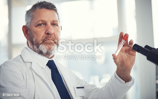 istock Science is one serious business 875837936