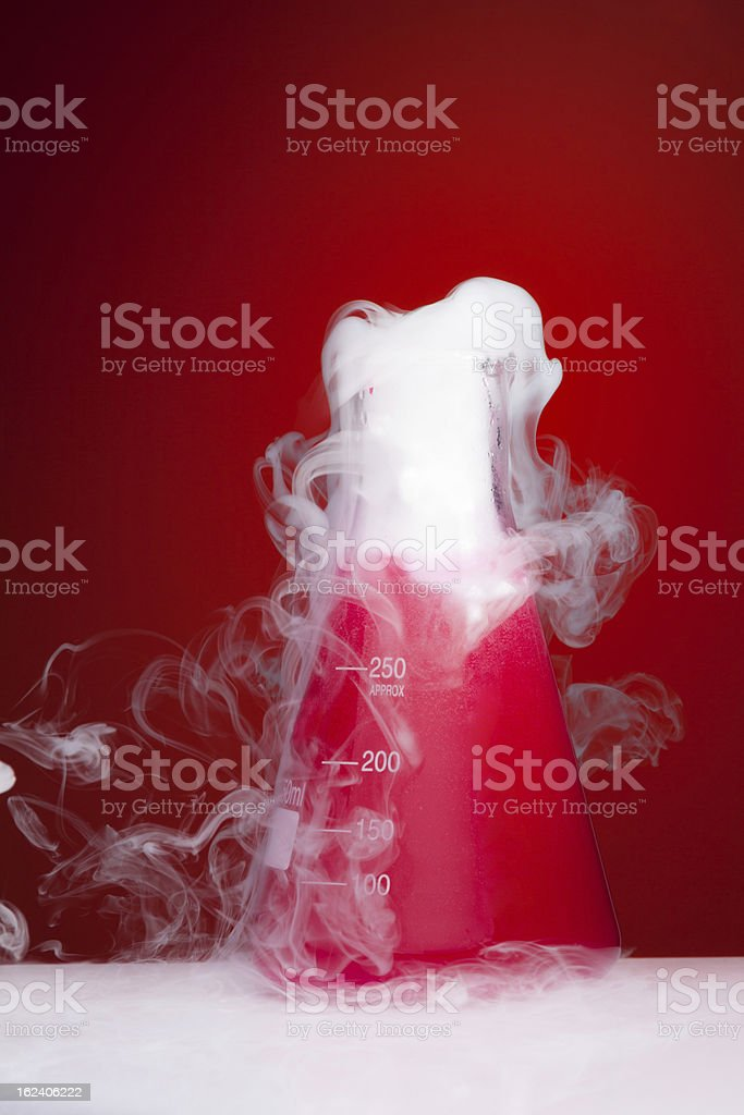 Science lab chemistry experiment royalty-free stock photo