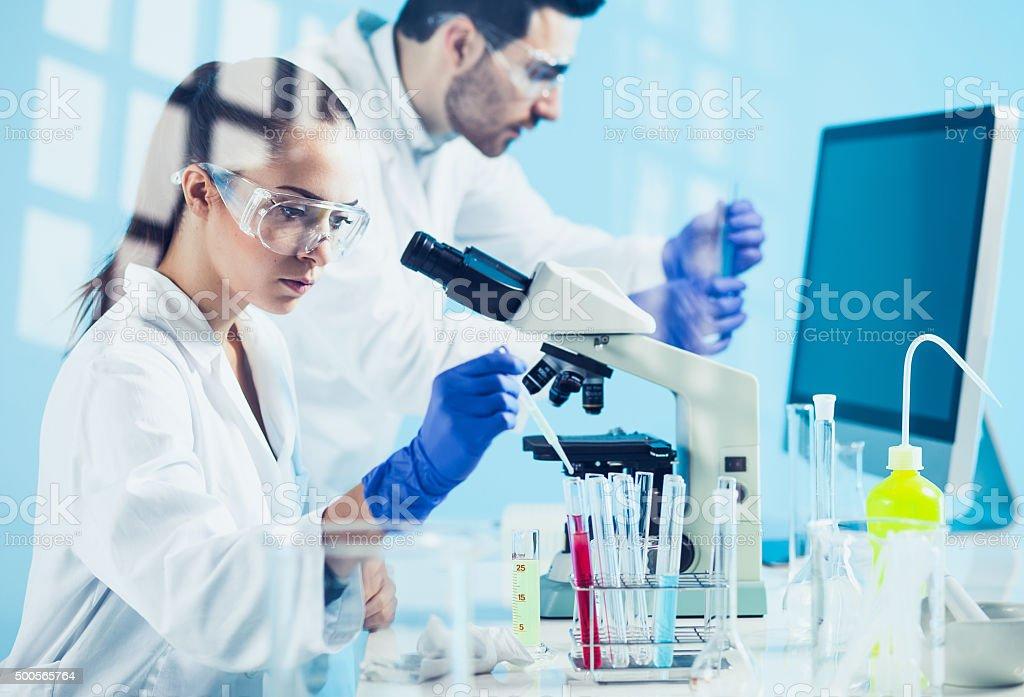 Science lab - Lizenzfrei 2015 Stock-Foto