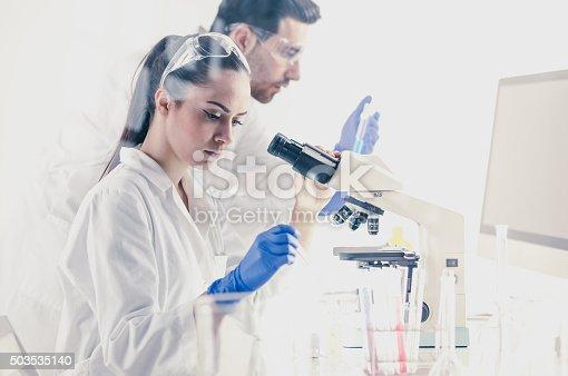 696949550istockphoto Science lab 503535140