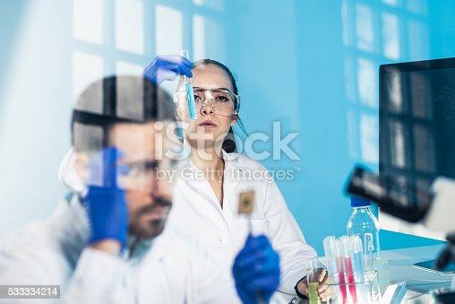 696949550istockphoto Science lab 533334214