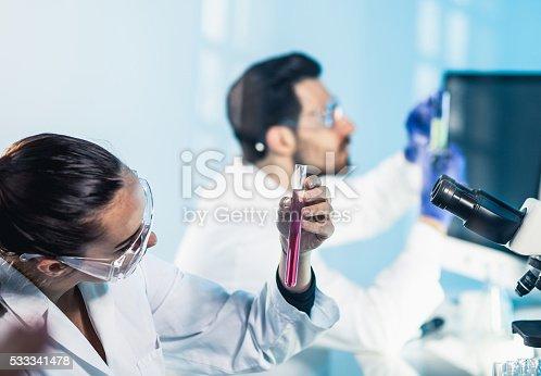 696949550istockphoto Science lab 533341478