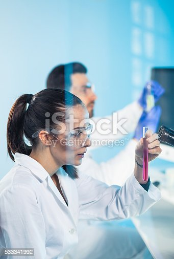 696949550istockphoto Science lab 533341992