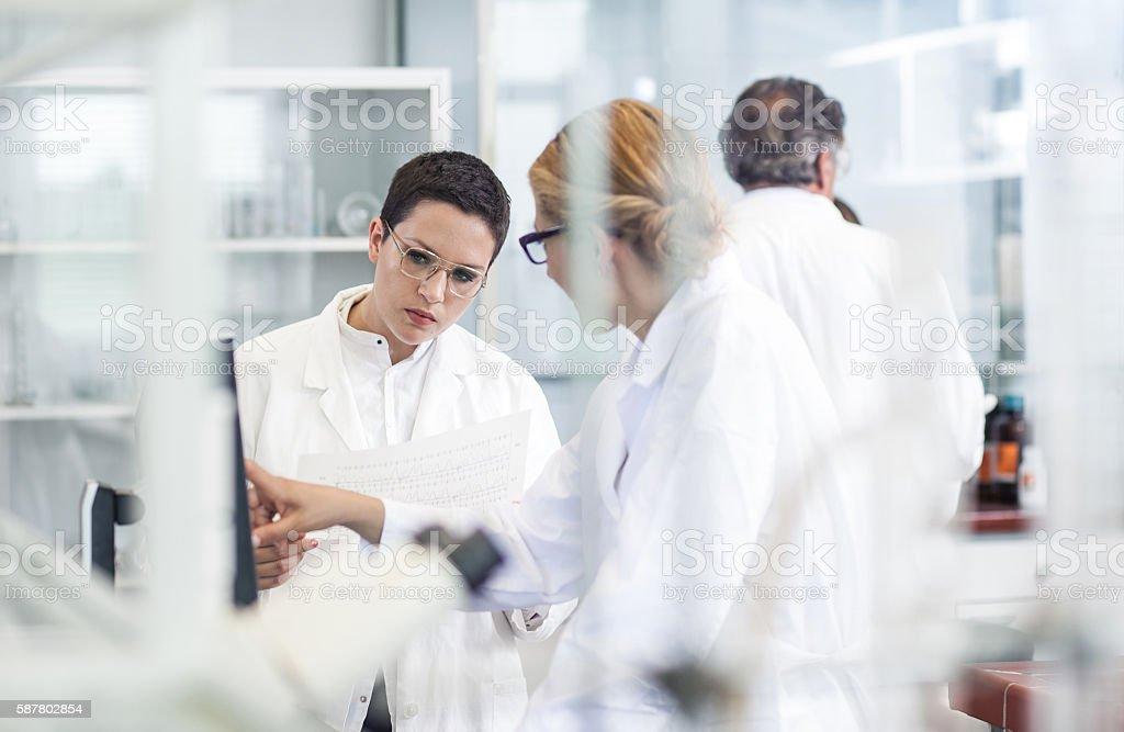 Wissenschaft-Labor - Lizenzfrei Analysieren Stock-Foto