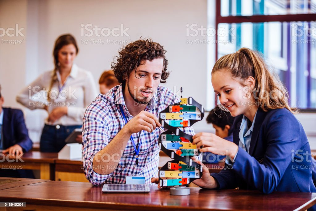 Science Lesson stock photo