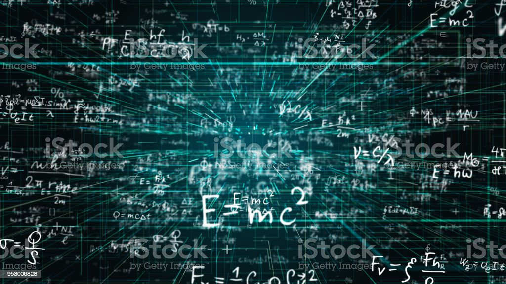 Science Math Chemistry Equations Stock Photo & More Pictures of ...