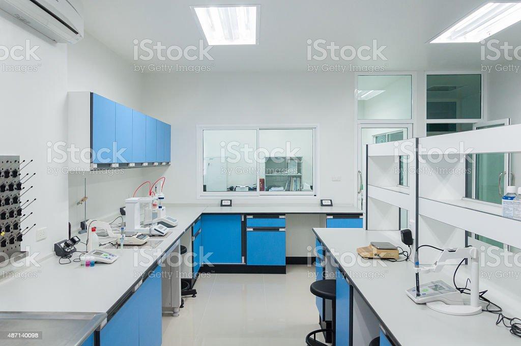 Science lab innen moderne Architektur. - Lizenzfrei 2015 Stock-Foto