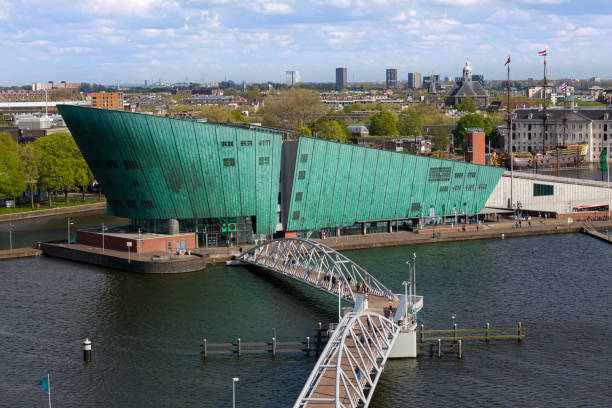 NEMO Science Museum in Amsterdam NEMO Science Museum is a science centre in Amsterdam, Netherlands. It is located in the Oosterdokseiland neighbourhood in the Amsterdam-Centrum borough, situated between the Oosterdokseiland and the Kattenburg. Amsterdam is the capital and most populous city of the Netherlands. Amsterdam is in the province of North Holland. nemo museum stock pictures, royalty-free photos & images