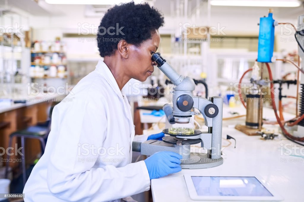 Science requires a critical eye stock photo