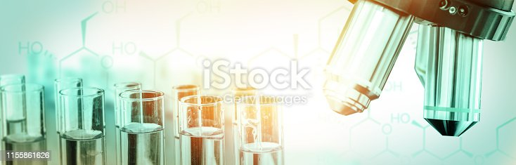 istock Science research and development concept. 1155861626