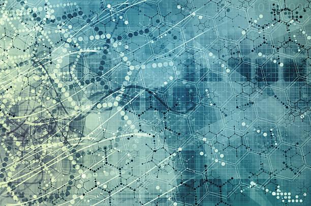 Investigação científica como um conceito para apresentação - foto de acervo