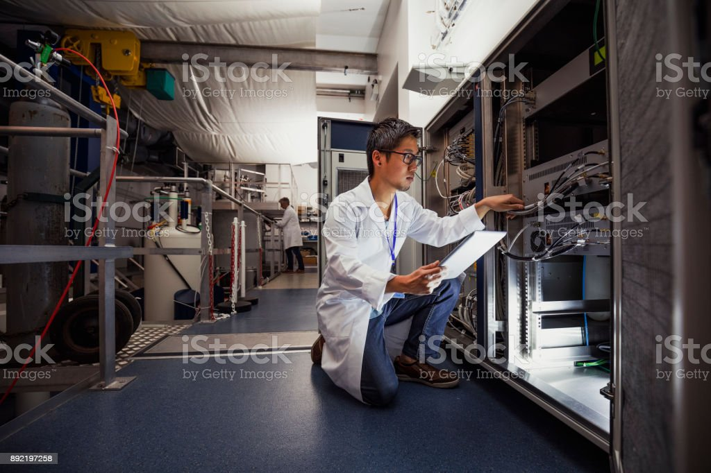 Science Technician stock photo