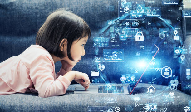 科学技術の概念。教育技術。エドテック - 教育 ストックフォトと画像