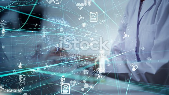 966874060istockphoto Science technology concept. Scientific examination. Scientist. 1210343139