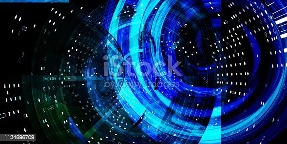 istock Science Technology Merging 1134696709