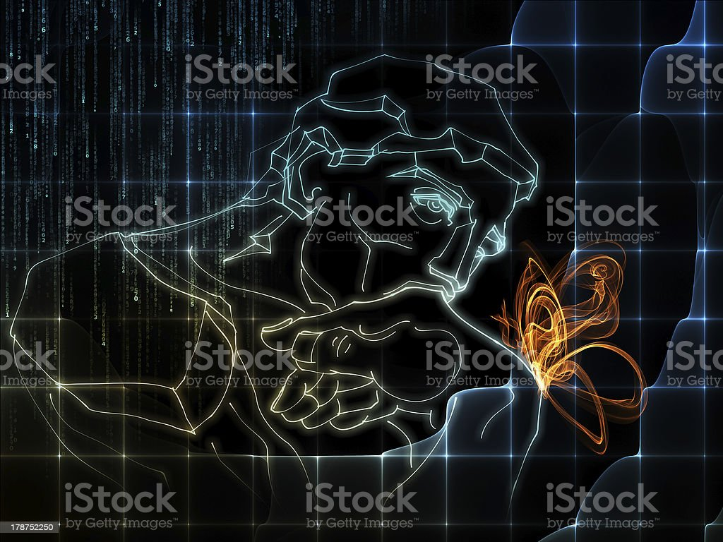 Science Thinking stock photo