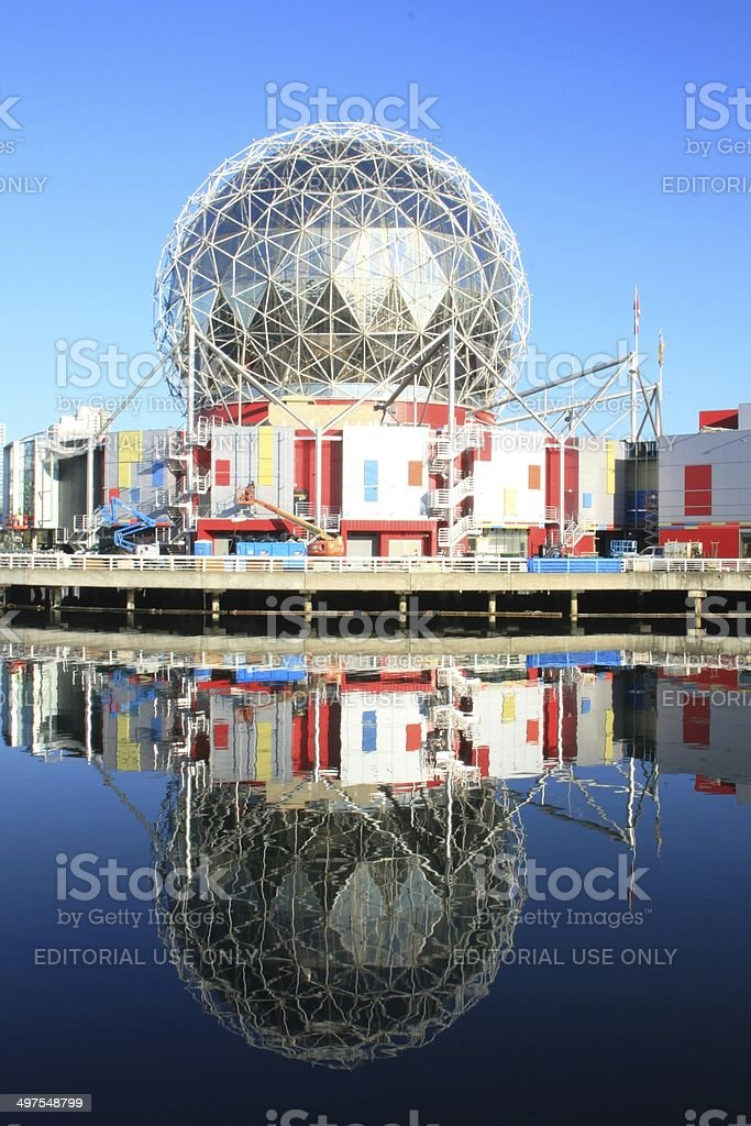 Science World at Telus World of Science stock photo