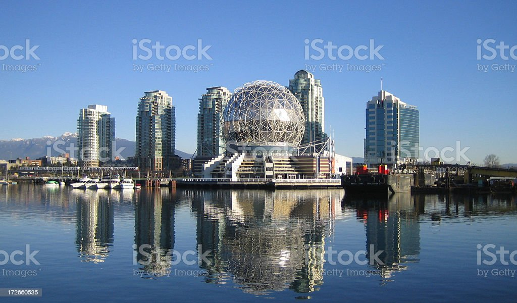 Science World Dome stock photo