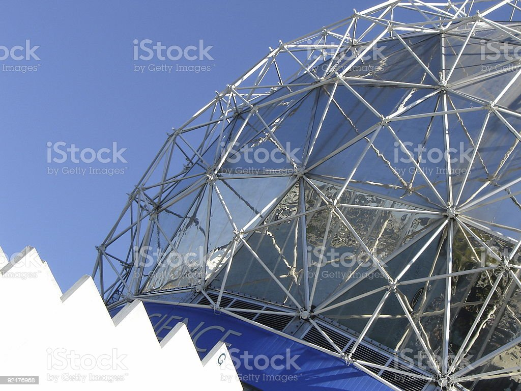 Science world in Vancouver, BC royalty-free stock photo