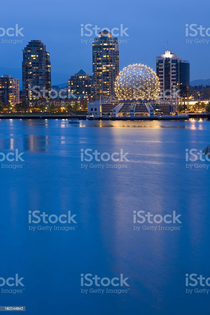 Science World in Vancouver, Canada stock photo