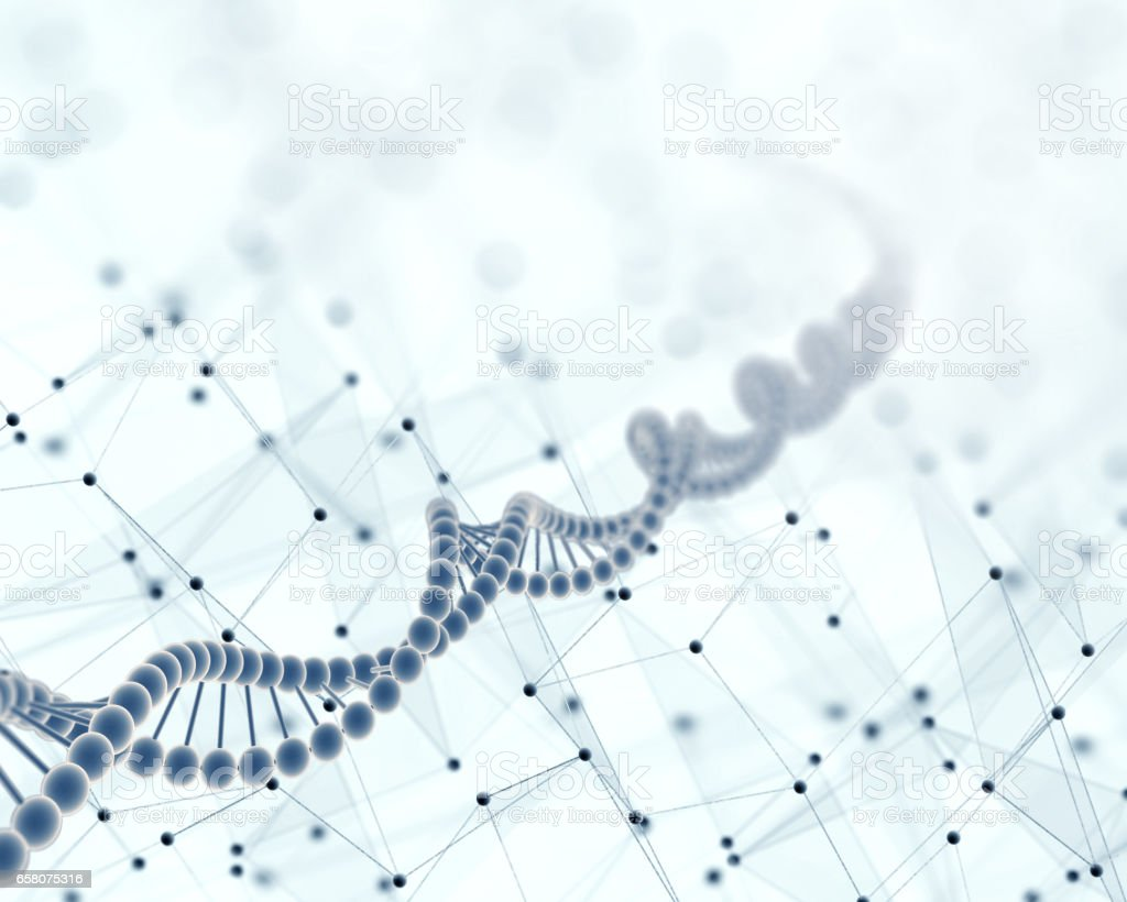 DNA, Scientific abstract background royalty-free stock photo
