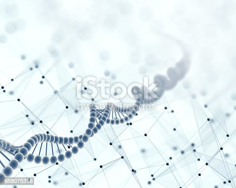 876037556 istock photo DNA, Scientific abstract background 658075316