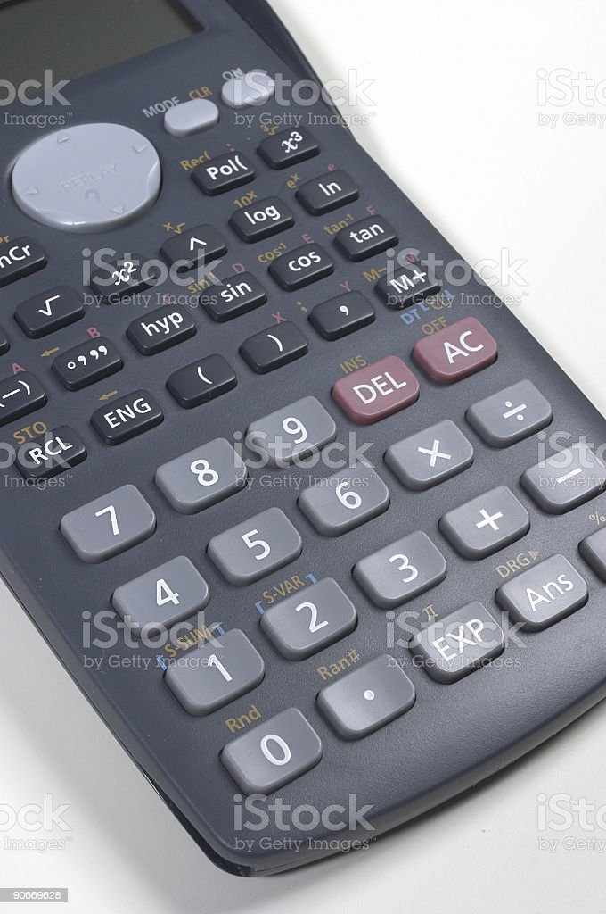 Scientific calculator II royalty-free stock photo