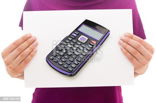 istock Scientific calculator 496106100