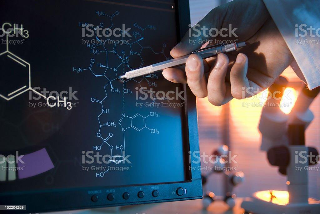 Scientific Data royalty-free stock photo