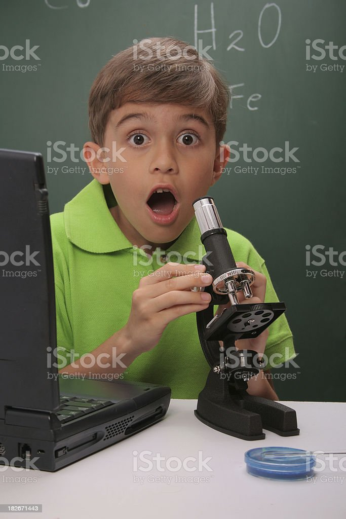 Scientific discovery royalty-free stock photo